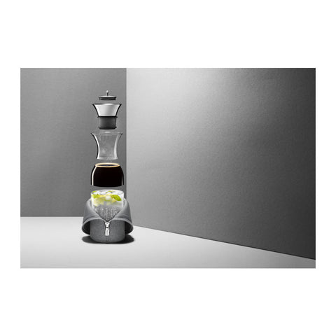 Eva Solo Fridge Carafe w/Cover 1.0L | Woven Dark Grey- 567973