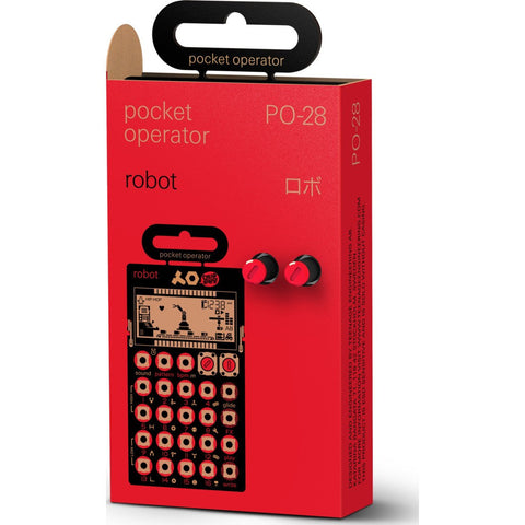 Teenage Engineering PO-28 Robot Pocket Music Operator Red