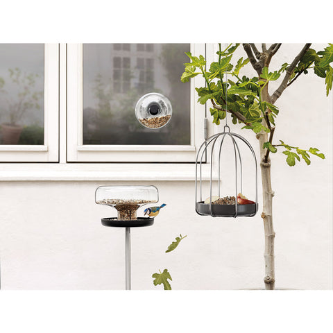 Eva Solo Bird Feeding Cage | Stainless Steel/Ceramic- 571027