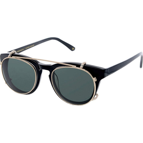 Han Kjobenhavn Timeless Clip-On Sunglasses | Black Frame-TL-CO-20