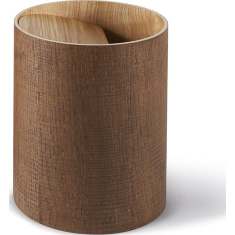 Atipico Riviera Wooden Waste Basket | Cinnamon Brown 5891