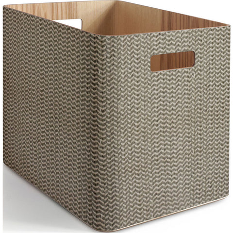 Atipico Arigatoe Large Wooden Storage Unit | Spina Beige Gray 5905