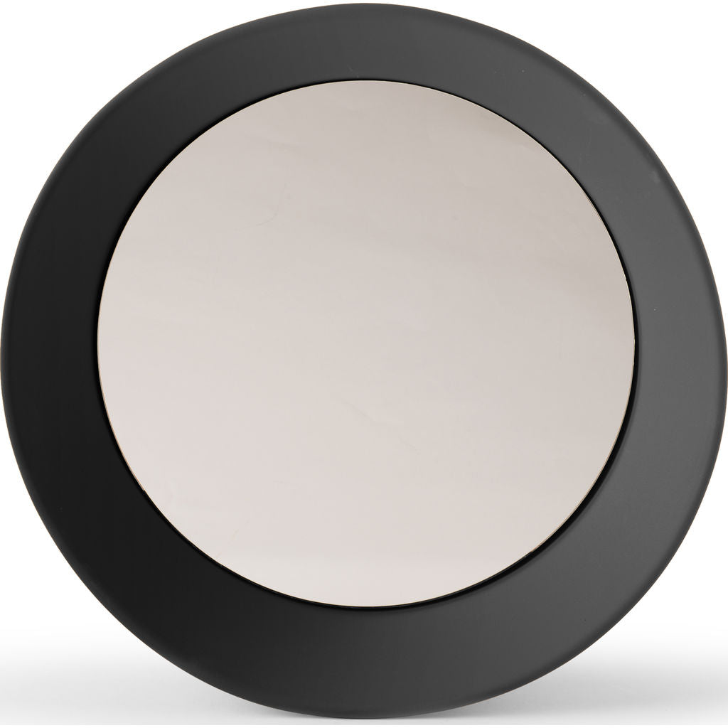 Atipico Girotondo Large Wall Mirror | Signal Black 5950
