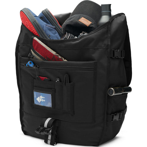 Chrome Warsaw 2.0 Messenger Backpack | Black