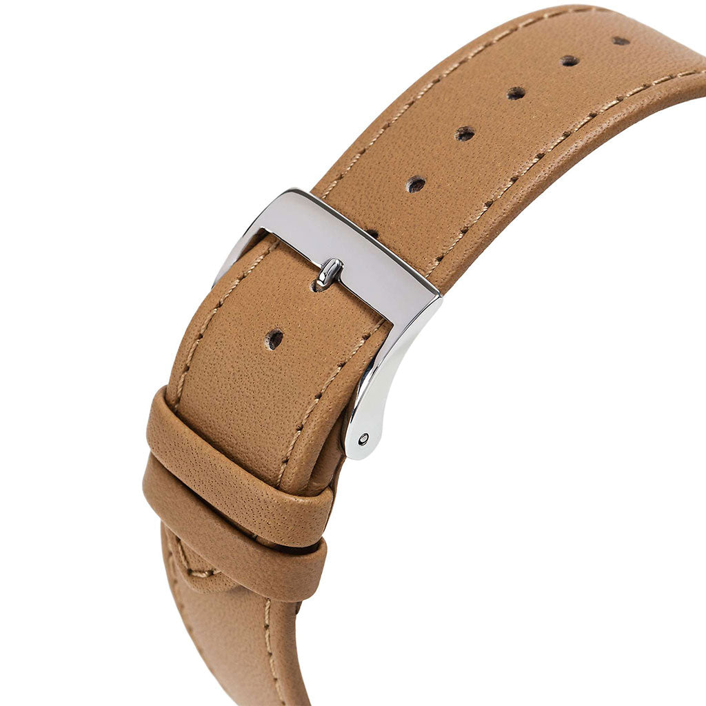 Junghans Max Bill Automatic Watch | Brown Calfskin Strap 027/3401.04