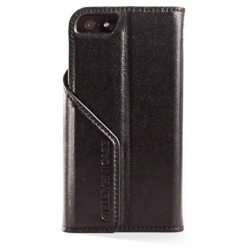 ElementCase Soft-Tec Leather iPhone 5/5s Case Black/Green