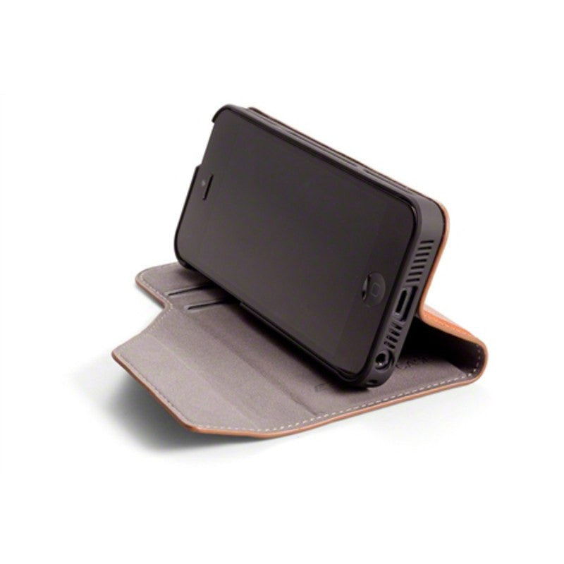 ElementCase Soft-Tec Leather iPhone 5/5s Case Brown/Gray