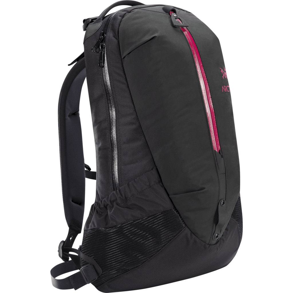 Arc'teryx Arro 22 Backpack | Black/Violet Wine 271779