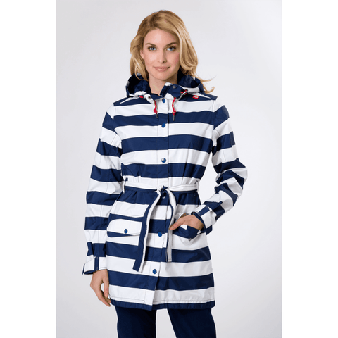 Helly Hansen Lyness Coat | Stripe Evening Blue