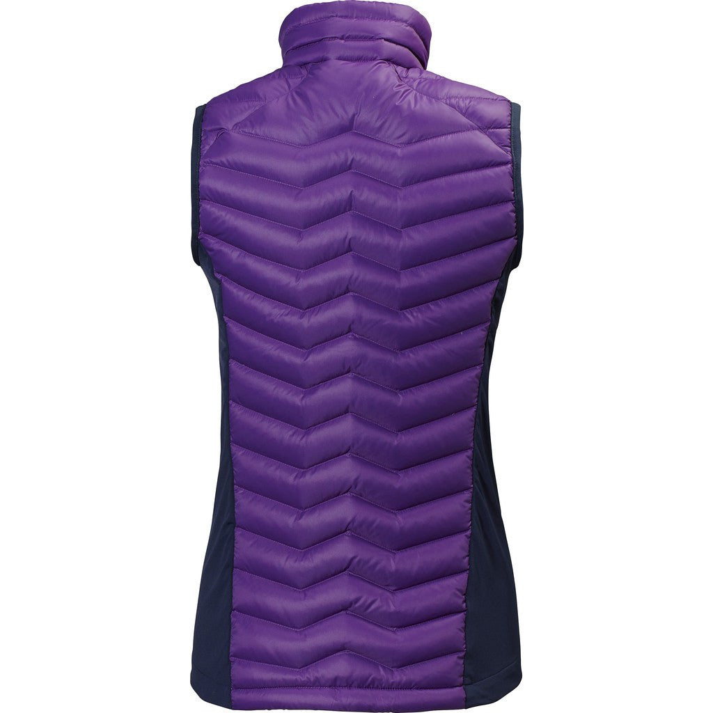 Helly Hansen Women's Verglas Down Insulator Vest | Sunburned Purple M 62337_107-M