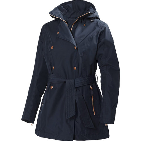 Helly Hansen Women's Welsey Trench | Navy Size S 62383_598-S