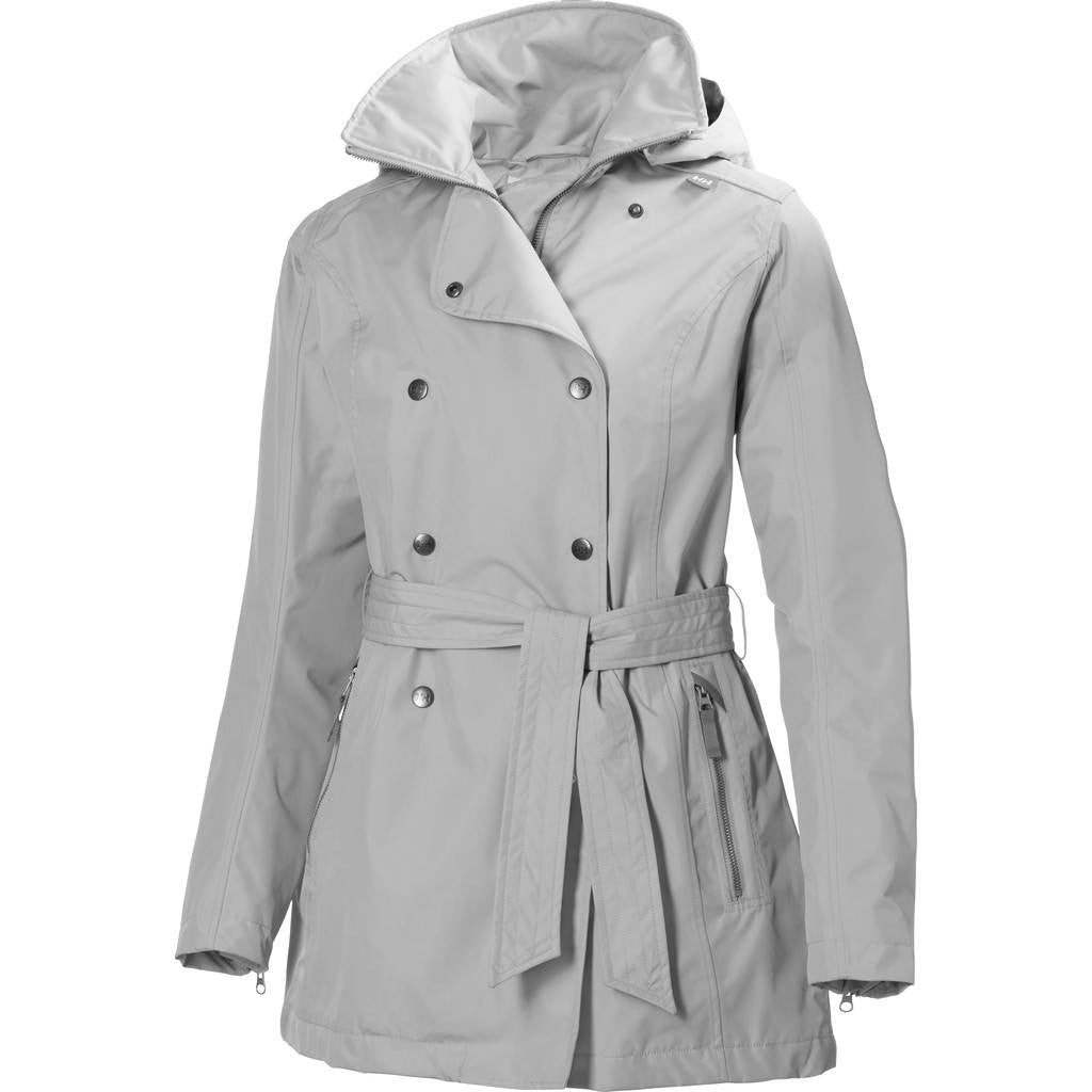 Helly Hansen Women's Welsey Trench Jacket | Ash Grey S 62383_813-S