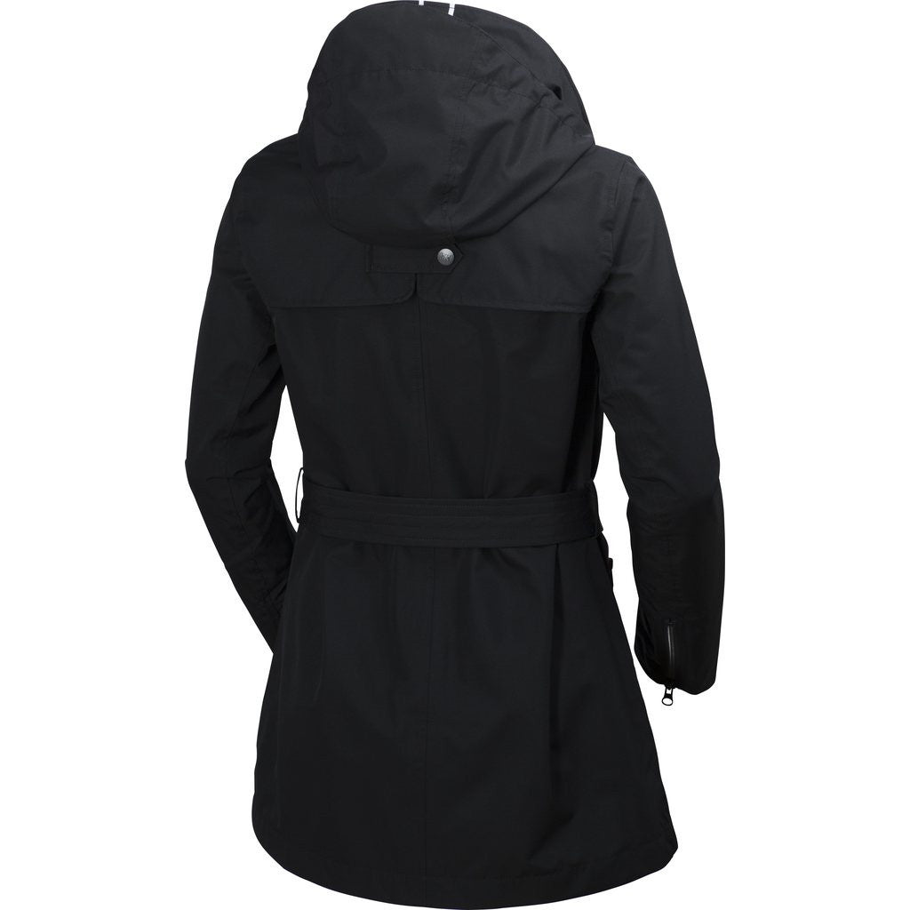 Helly Hansen Women's Welsey Trench Jacket | Black M 62383_991-M
