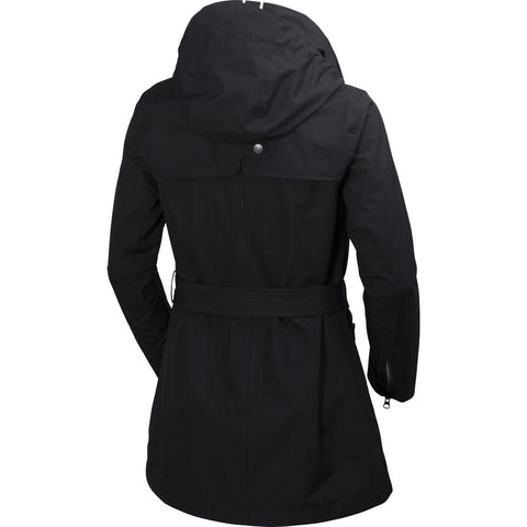 Helly Hansen Women's Welsey Trench Jacket | Black S 62383_991-S