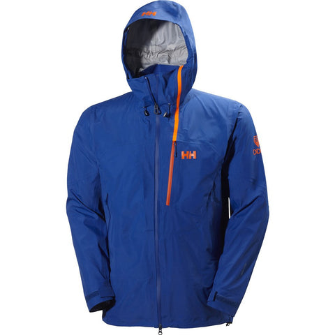Helly Hansen Men's Odin Vertical Shell Jacket | Classic Blue M 62504_533-M