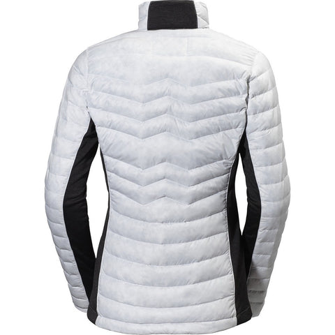 Helly Hansen Women's Verglas Hybrid Insulator Down Jacket | Print White Xs 62511_001-Xs