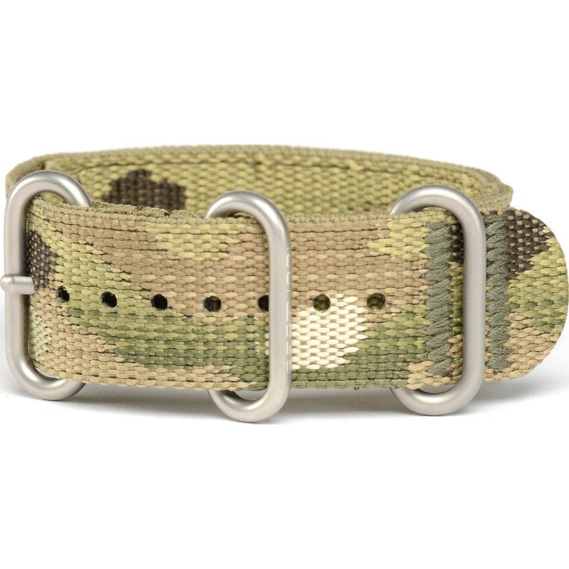 Bertucci Camo 2-Ply Nylon Watch Band | Multicam/Nano #64MC