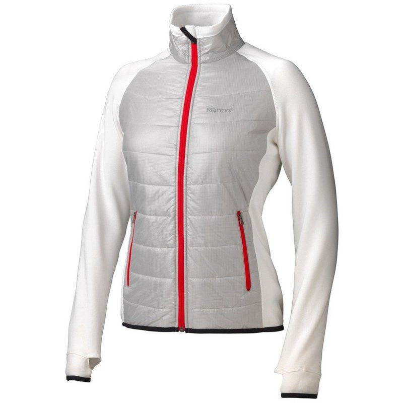 Marmot Variant Women's Thermal R™ Jacket | Platinum/White/Red