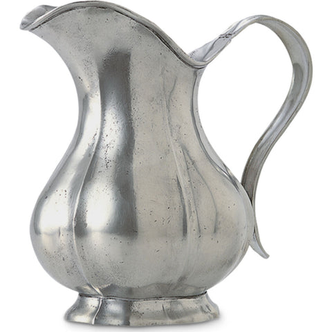 Match Fluted Pitcher | Pewter