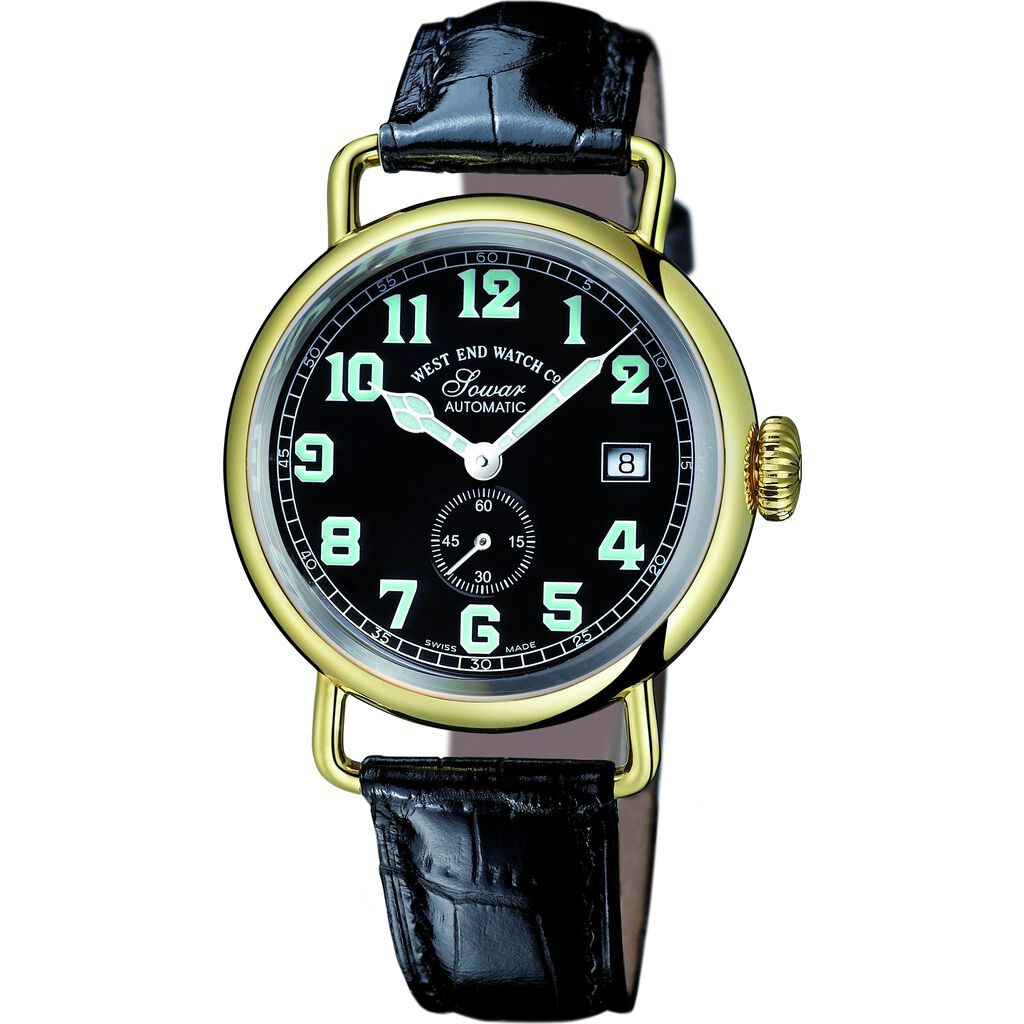 West End Watch Co. Sowar 1916 Watch | Black Dial