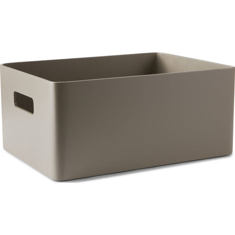Atipico Arigatoe Small Wooden Storage Unit | Beige Gray 6972