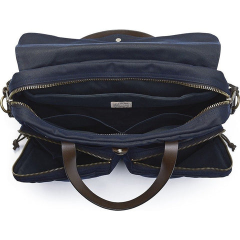 Filson 24 Hour Tin Cloth Briefcase | Navy