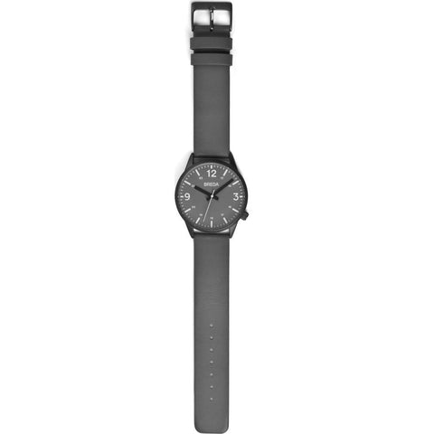 Breda Watches Slate Watch | Gunmetal/Gray 7017f