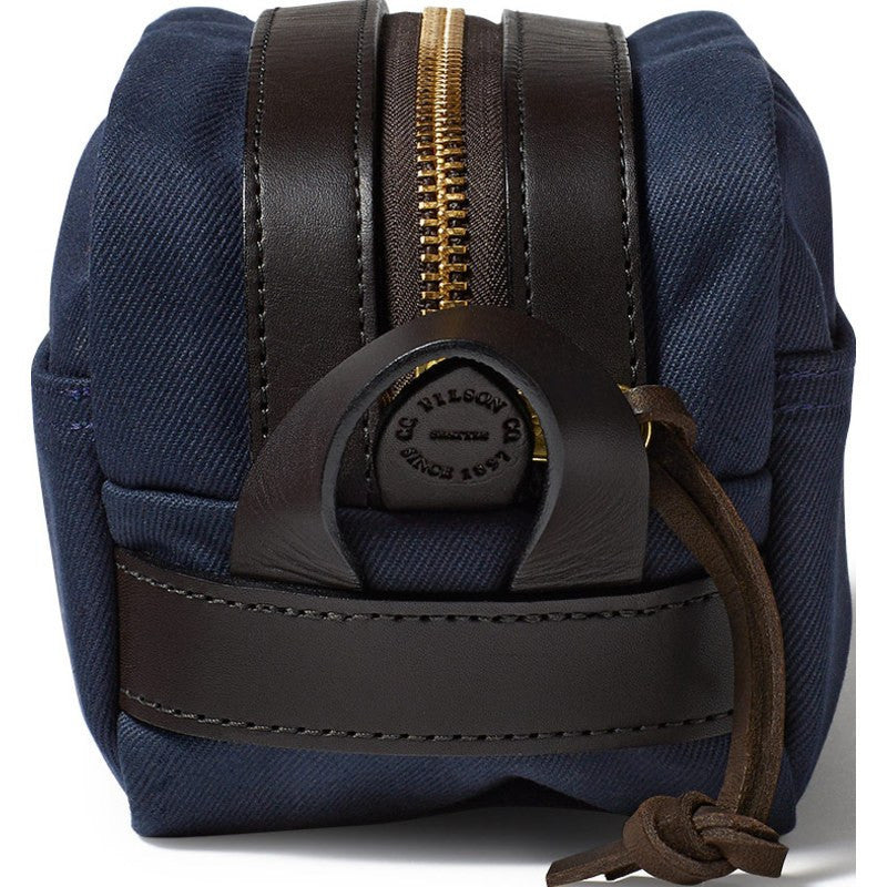 Filson Rugged Twill Travel Dopp Kit | Navy