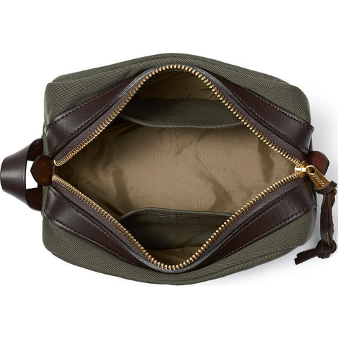 Filson Rugged Twill Travel Dopp Kit | Otter Green