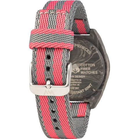 WeWood Phoenix Cotton Fiber Wood Watch | Teak Pink WPH38P