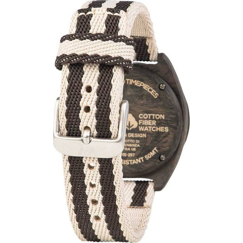 WeWood Phoenix Cotton Fiber Wood Watch | Wenge Grey WPH38WG