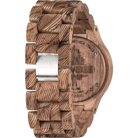 WeWood Date Rough Waves Walnut Wood Watch | Nut WDWRNT
