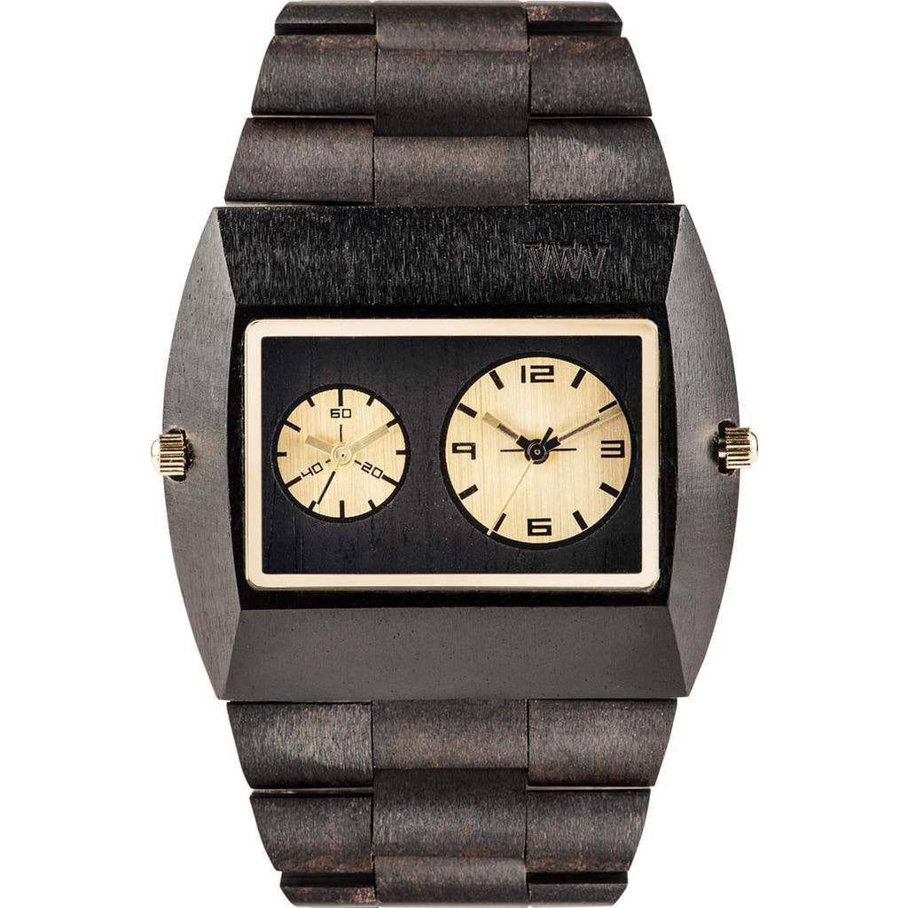 WeWood Jupiter Gold TL Blackwood Watch | Black/Gold Wjbgtl