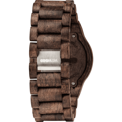 WeWood Assunt Rough Indian Rosewood Watch | Chocolate