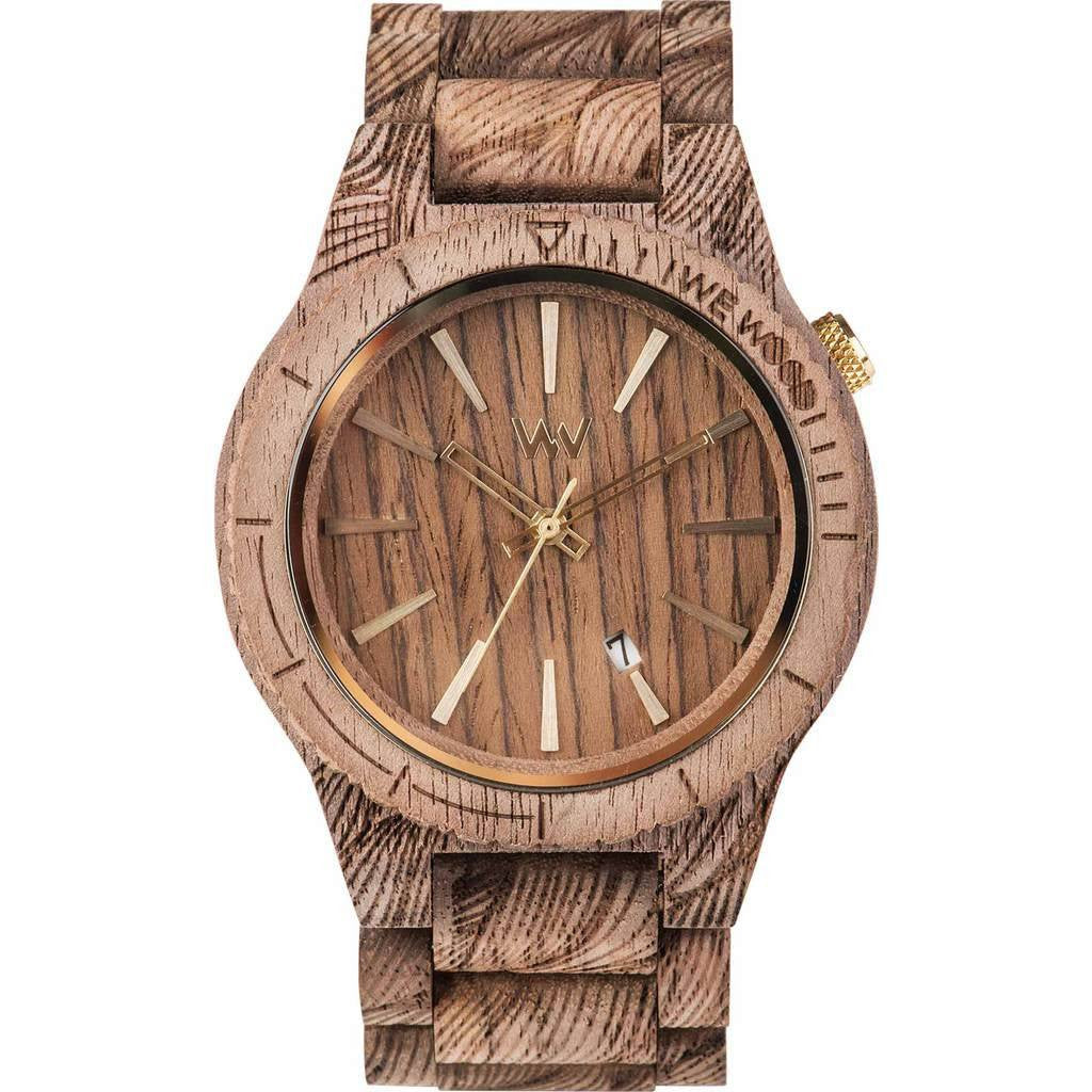 WeWood Assunt Rough Waves Walnut Wood Watch | Nut WASRWN