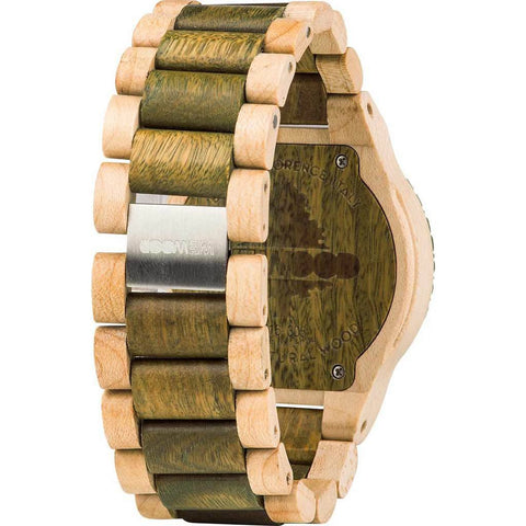 WeWood Kardo Guaiaco/Maple Wood Watch | Army/Beige