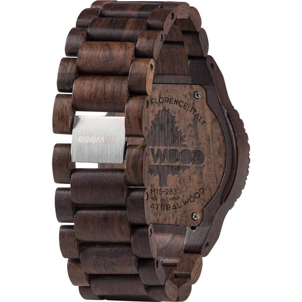 WeWood Kardo Indian Rosewood Watch | Chocolate/White Wkachwh