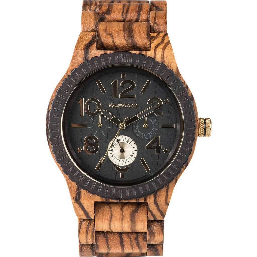 WeWood Kardo African Beli/Blackwood Wood Watch | Zebrano WKARZB
