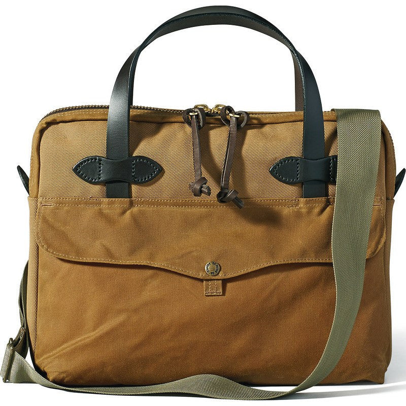 Filson Rugged Twill Tablet Briefcase | Tan