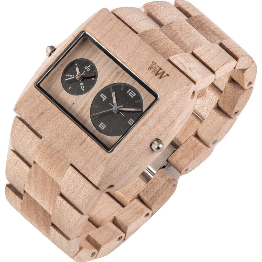 WeWood Jupiter RS Maple Wood Watch | Beige WJRSBE