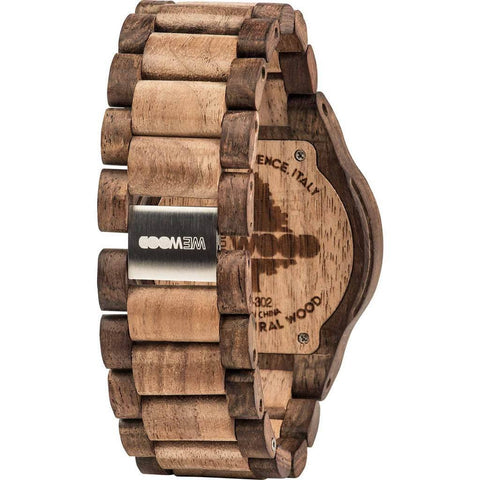 WeWood Oblivio Rough Indian Rosewood/Walnut Wood Watch | Chocolate WOBRCN