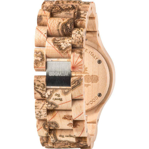 WeWood Date Magellano Maple Wood Watch | Beige Wdmbei