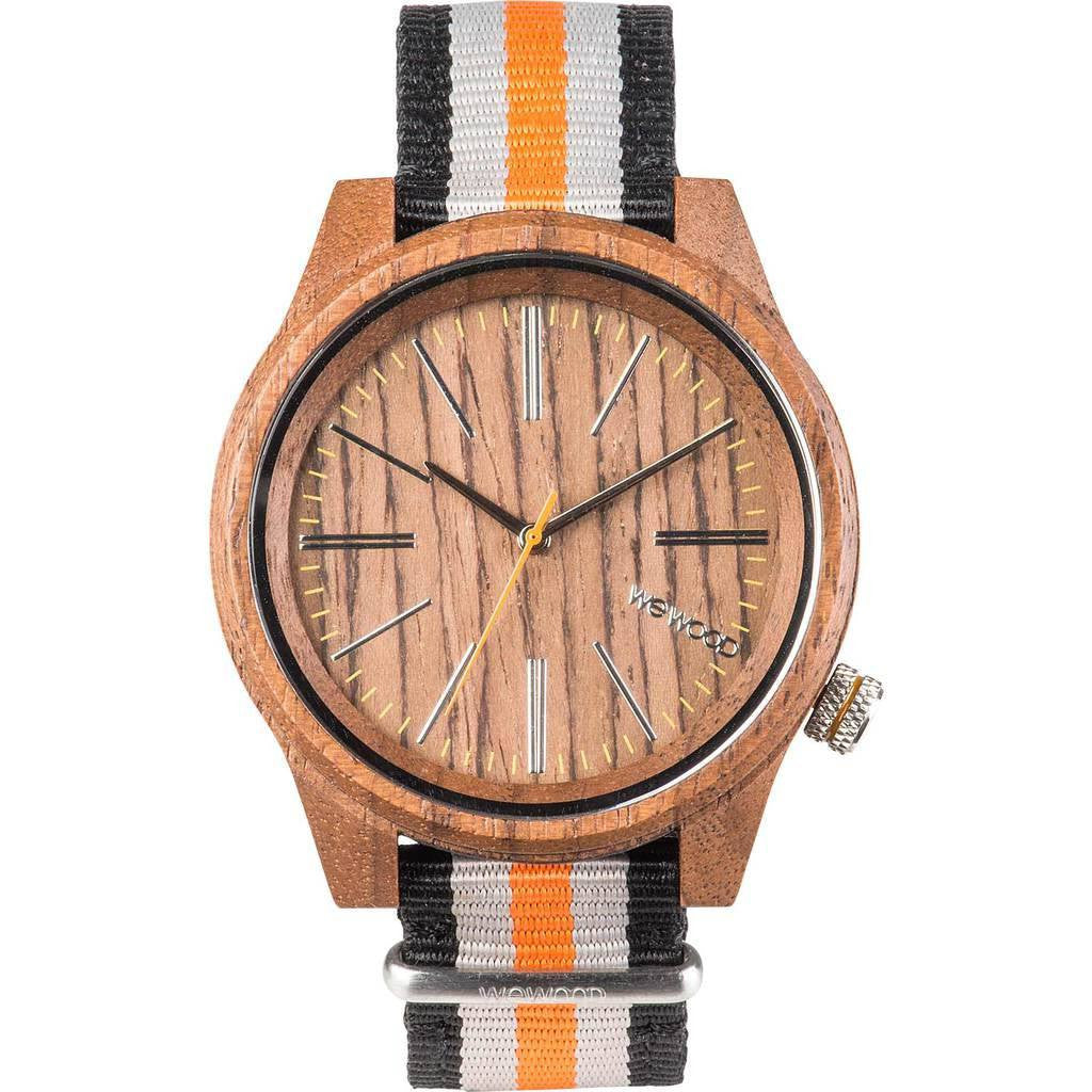 WeWood Torpedo Nut Wood Watch | Walnut/Orange Wtntor