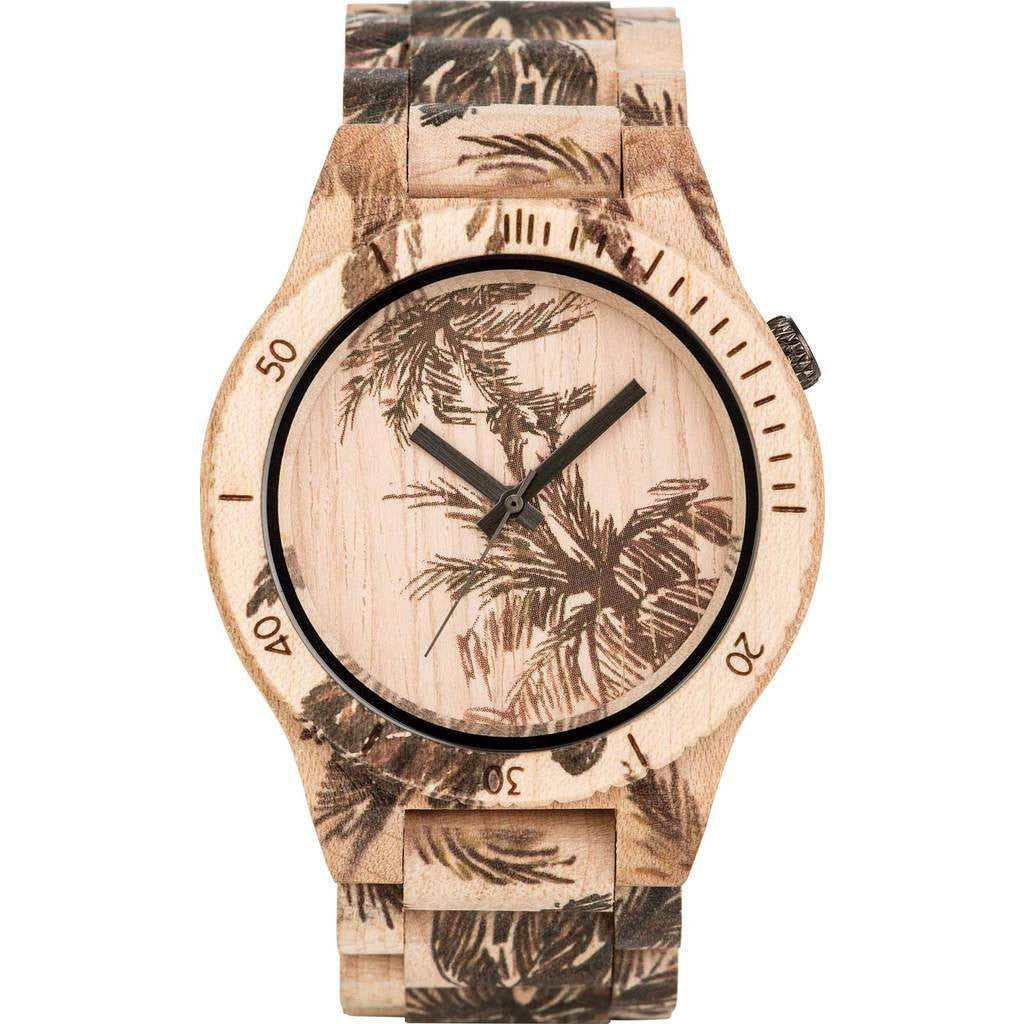 WeWood Allium Maple Wood Watch | Palm Beige WALPAB