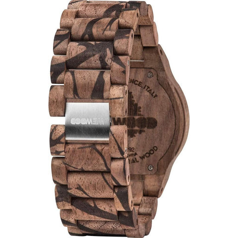 WeWood Alpha Nature Tree Nut Wood Watch | Walnut Print