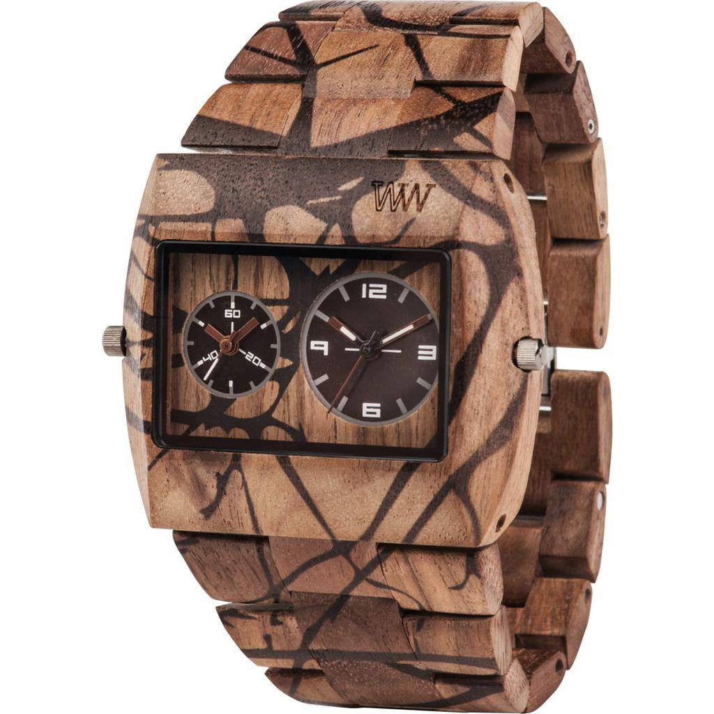 WeWood Jupiter Nature Tree Nut Wood Watch | Walnut Jntrn