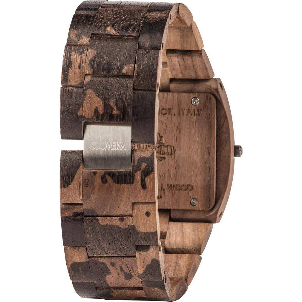 WeWood Jupiter Nature Camo Nut Wood Watch | Walnut Wjncnu