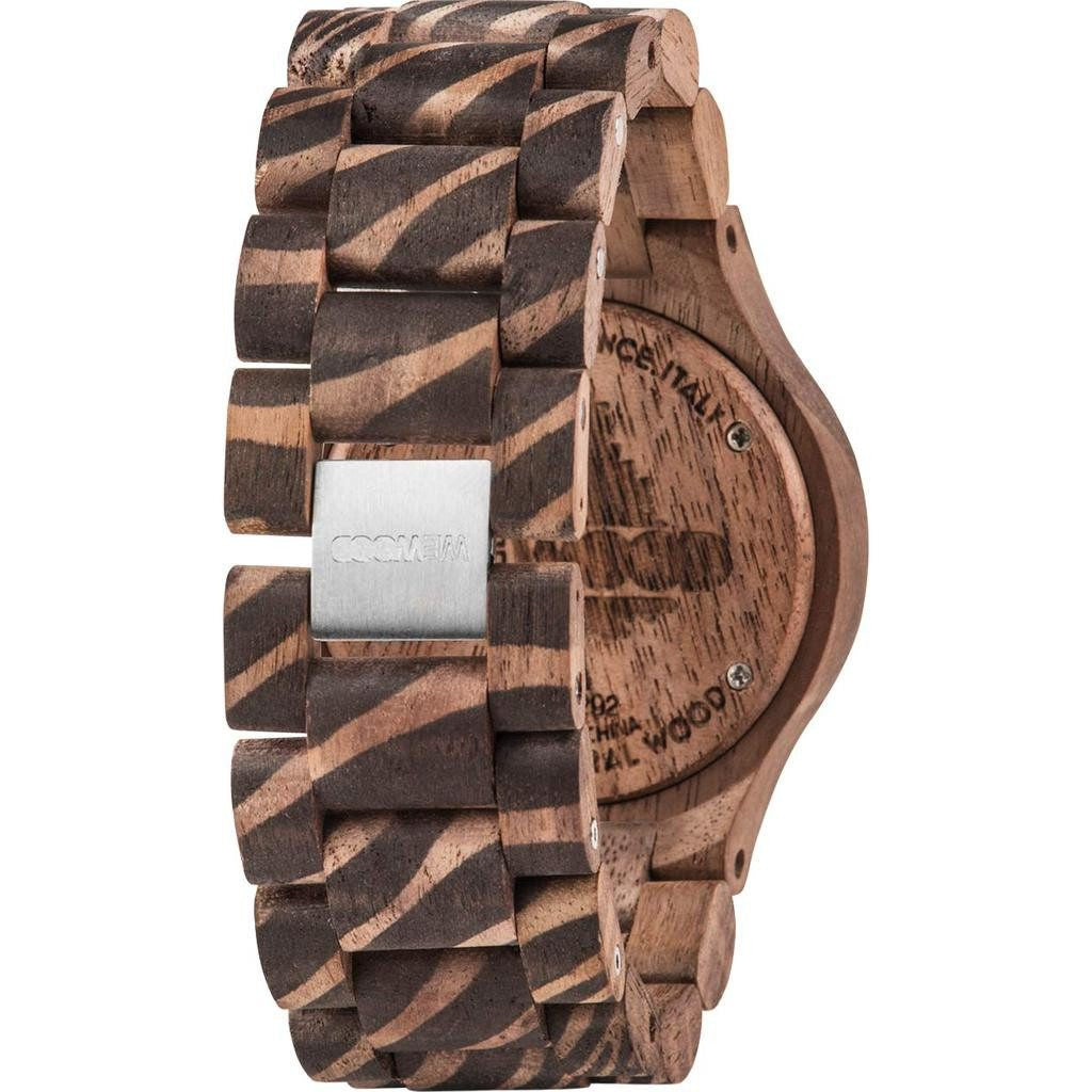 WeWood Date Nature Zebra Nut Wood Watch | Walnut Wdnznu