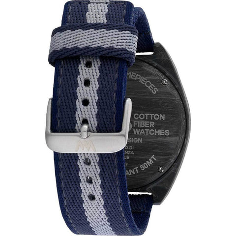 WeWood Phoenix Cotton Fiber Wood Watch | Teak Blue WPH46TB
