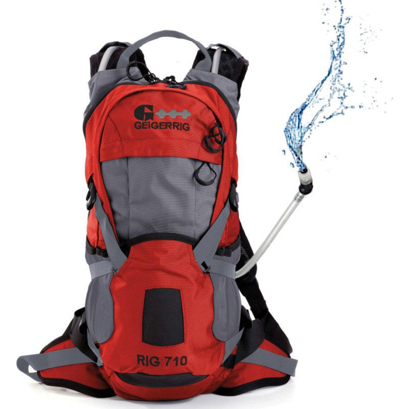 Geigerrig Rig 710 Hydration Backpack | Orange/Gunmetal